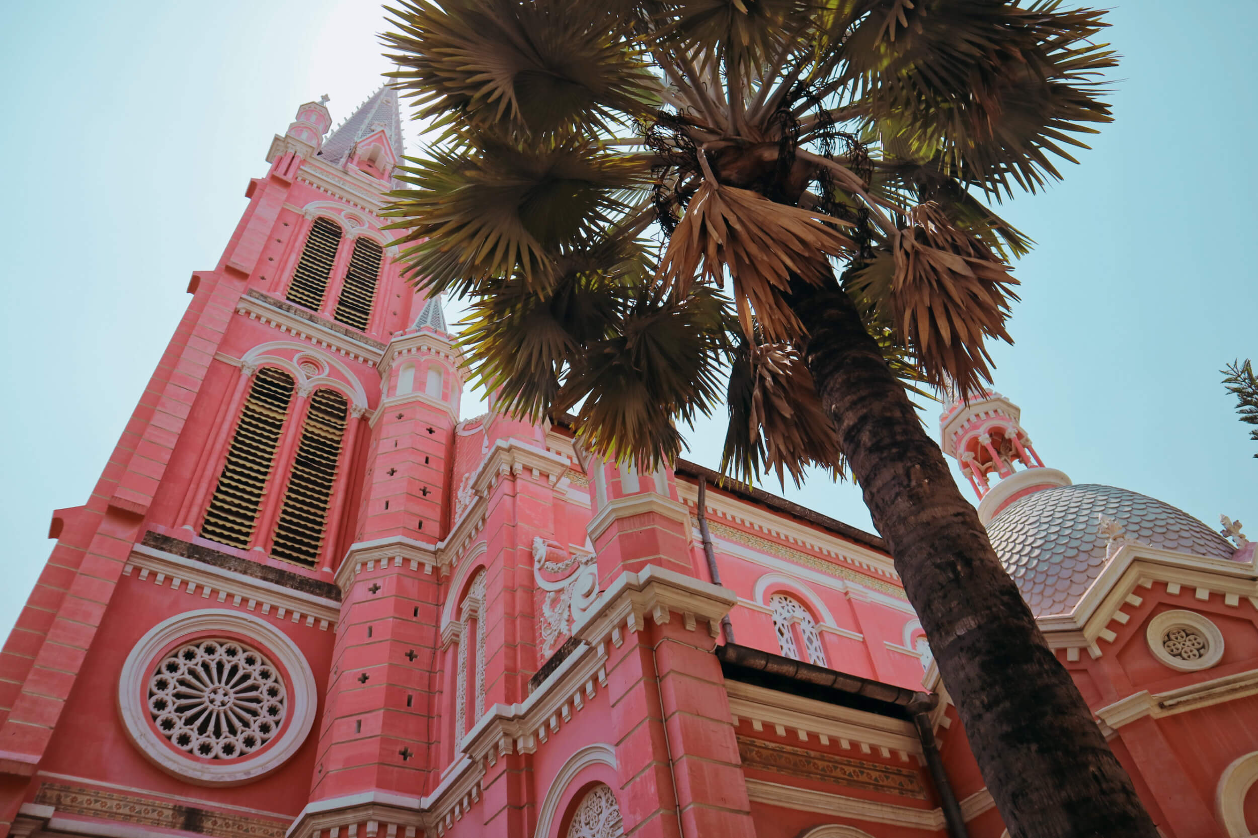Tan Dinh Church: the pastel-pink gothic church in Ho Chi