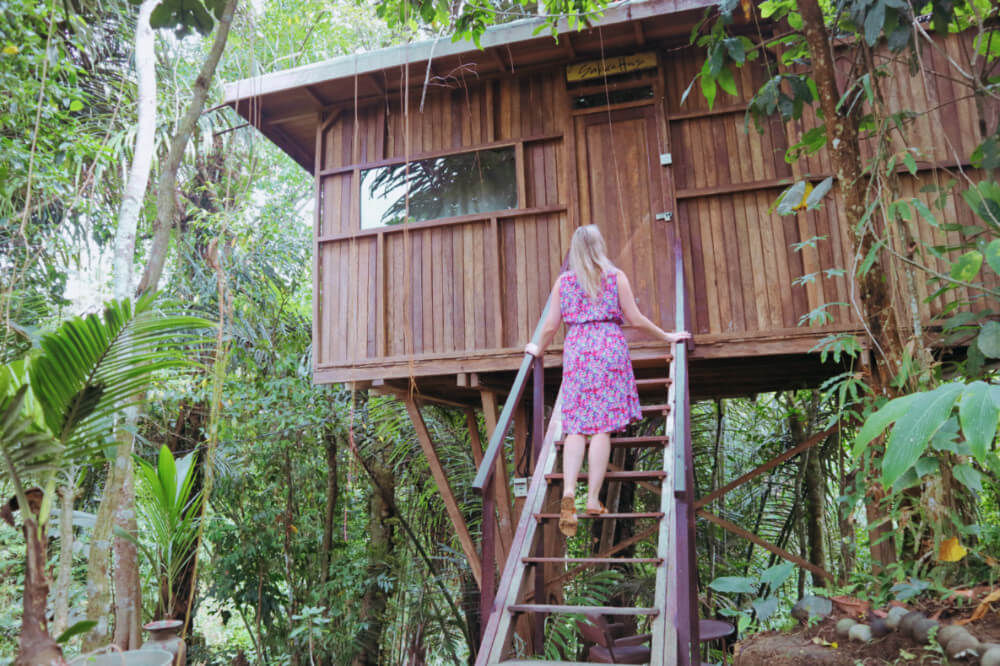 Is This The Best Treehouse Accommodation In Bali Hars Garden Tree Houses Review Temples And Treehouses