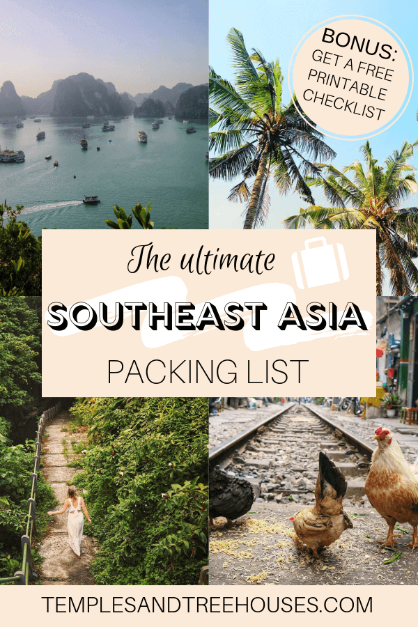 f9d65e574 The ultimate packing list for Southeast Asia (plus printable ...